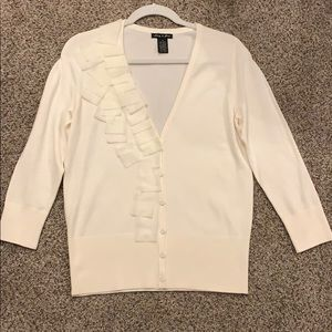 Audrey and Grace cream sweater